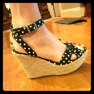 Poka Dot Wedges